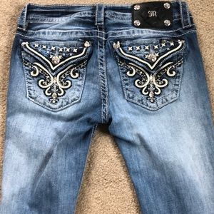 Miss me jeans 27 signature straight